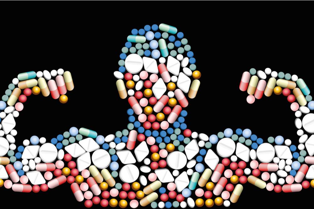 body of pills representing detox medication