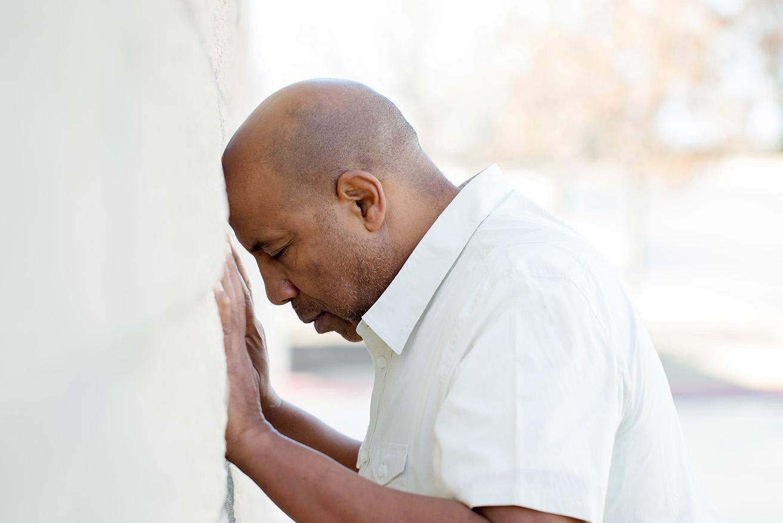 Man considering dual diagnosis