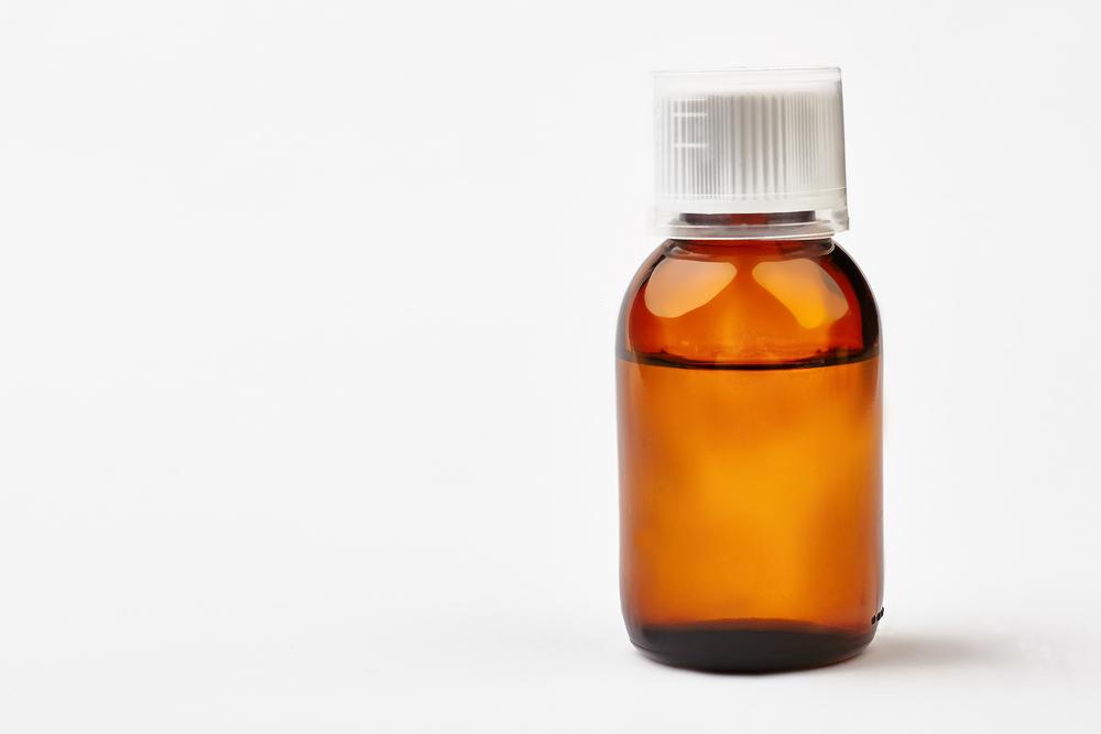 bottle of codeine